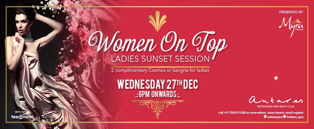 Women On Top at Antares 27th Dec