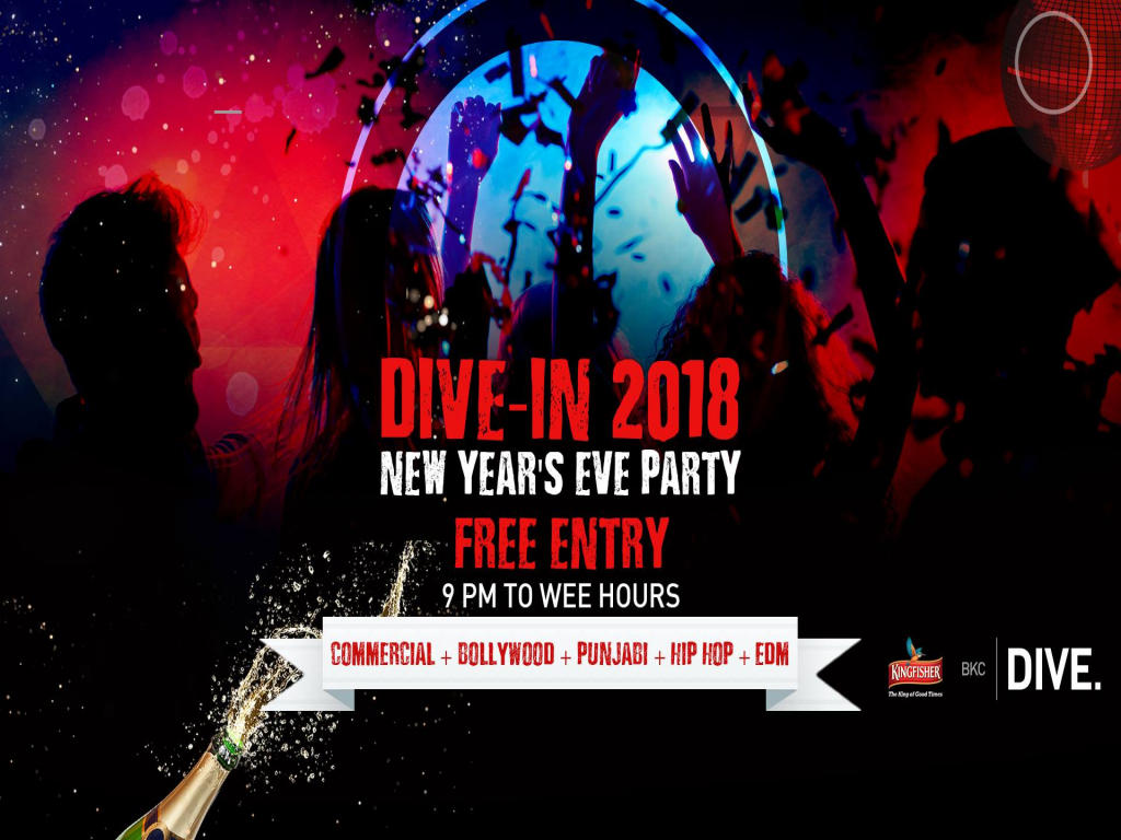 This New Year, DIVE-IN 2018 with a bang at BKC Dive