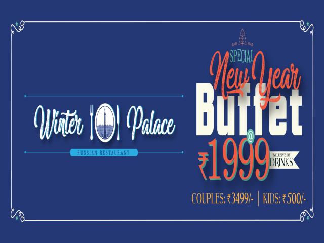 Winter Palace Newyear Buffet 2018