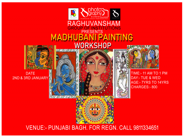 madhubani painting workshop