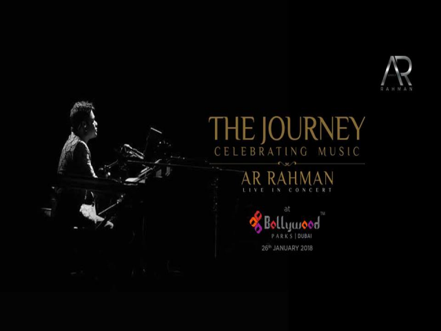 The Journey Celebrating Music, A.R. Rahman, Live in Concert