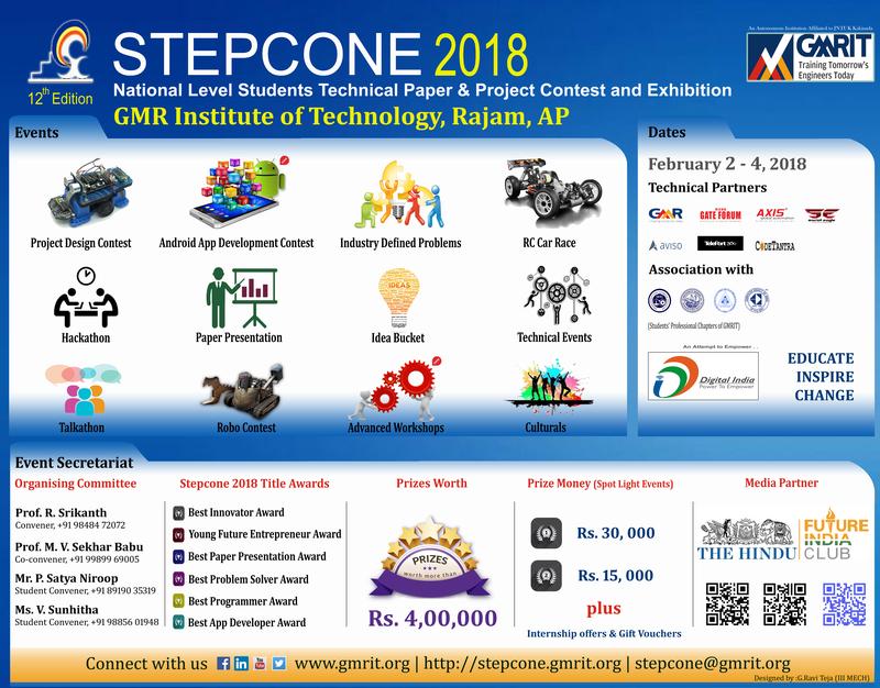 STEPCONE 2018
