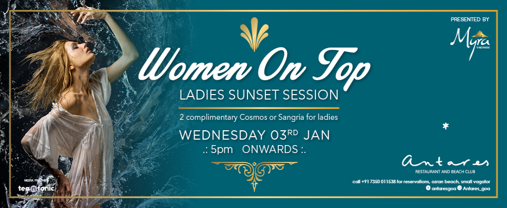 Women On Top at Antares 3nd Jan