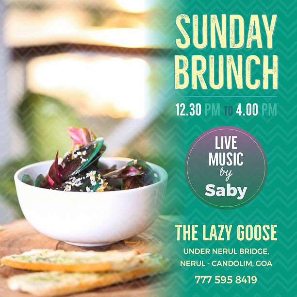 Sunday Brunch at The Lazy Goose 7th Jan