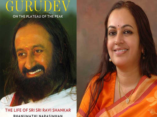 Bhanumathi Narasimhan to launch the first official biography of Gurudev