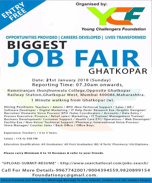 Mega Jobfair in Mumbai