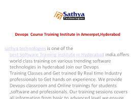 devops online  course training hyderabad