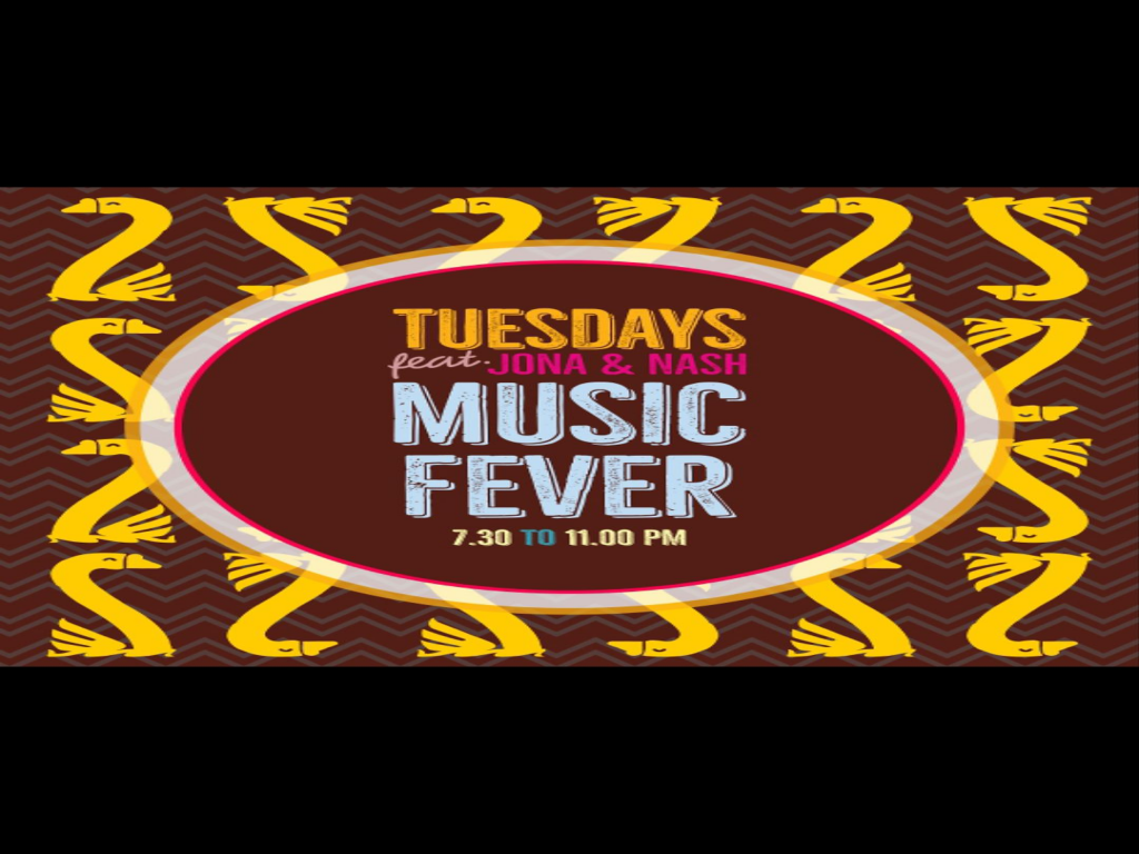 Music Fever at The Lazy Goose 9th January