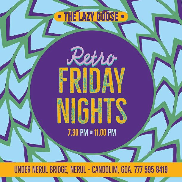 Friday Nights at The Lazy Goose 12th January