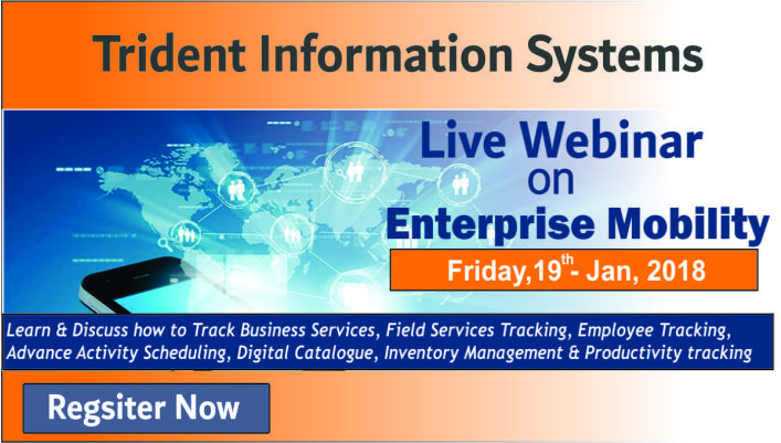 Live Webinar on Enterprise Mobility - Learn & Discuss how to track Business