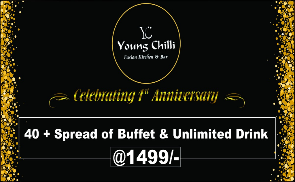 Young Chilly Celebrating 1st Anniversary