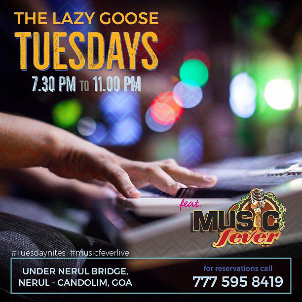 Tuesday Nights at The Lazy Goose