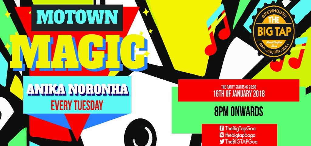 Motown Magic at The Big Tap, 16th January