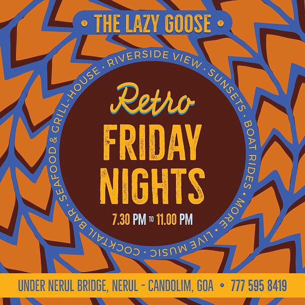 Friday Nights at The Lazy Goose, 19th January