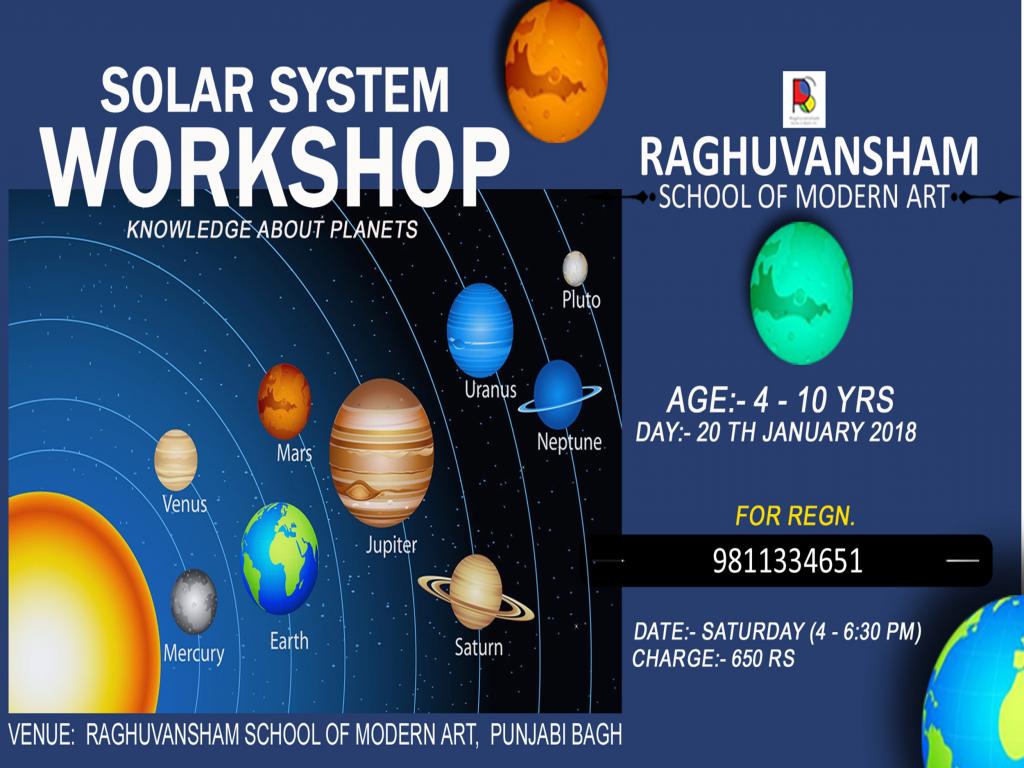 solar system workshop in delhi