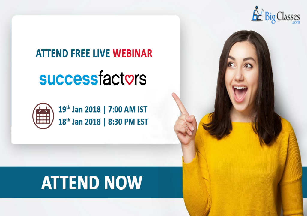 Discover SAP SuccessFactors, Free Demo by 15 years experienced