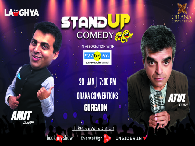 Stand Up Comedy with Amit Tandon and Atul Khatri