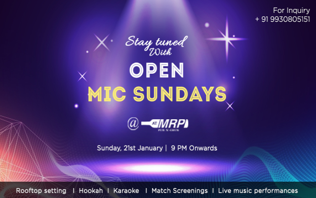 Open Mic Sundays @ ATMRP