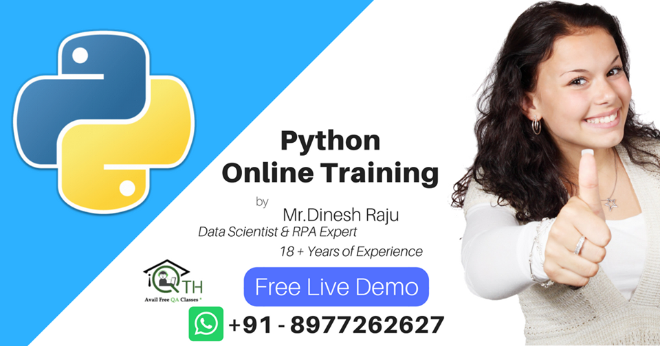 Free Demo On Python Online Training