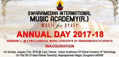 Swaramedha International Music Academy - Annual Day 2017-18