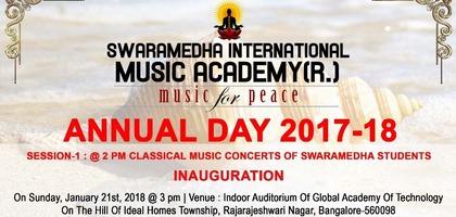 Swaramedha International Music Academy - Annual Day 2017-18
