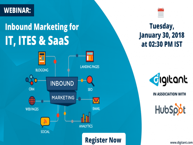 An exclusive Webinar for IT, ITES & SaaS companies looking to generate qualified