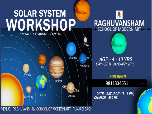 solar system workshop