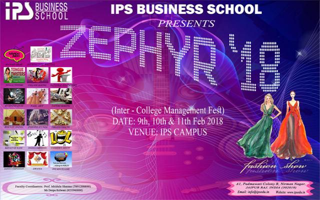 ZEPHYR (INTER COLLEGE MANAGEMENT FEST)