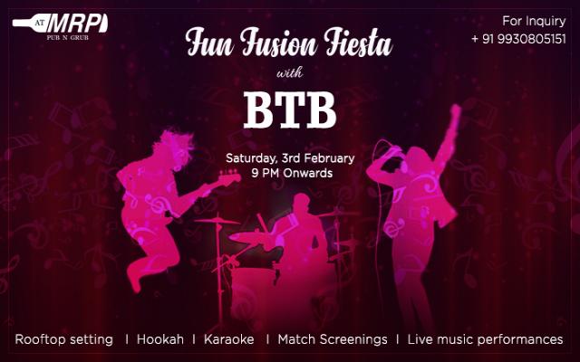 Fun Fusion Fiesta With BTB