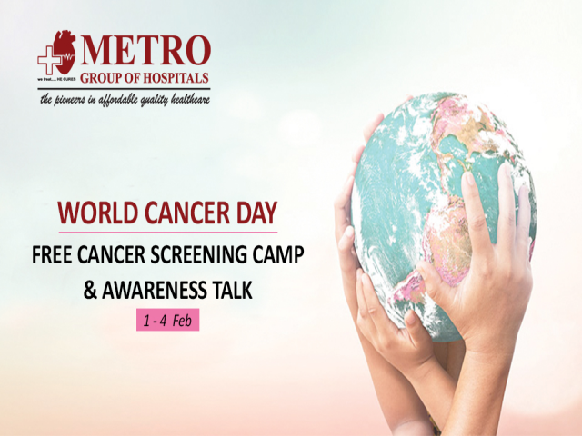 Free Cancer Screening Camp & Health Awareness Talk on World Cancer Day