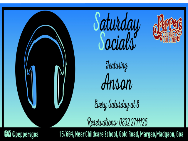 Saturday Socials - 3rd Feb 2018