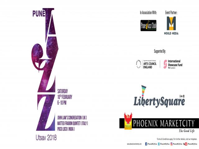 Pune Jazz Utsav, 2018 @ Phoenix Marketcity, Pune