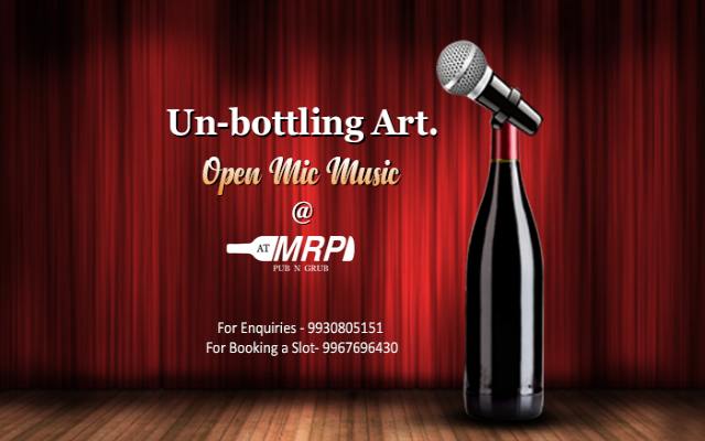 Un-bottling Art- Open Mic Music at ATMRP