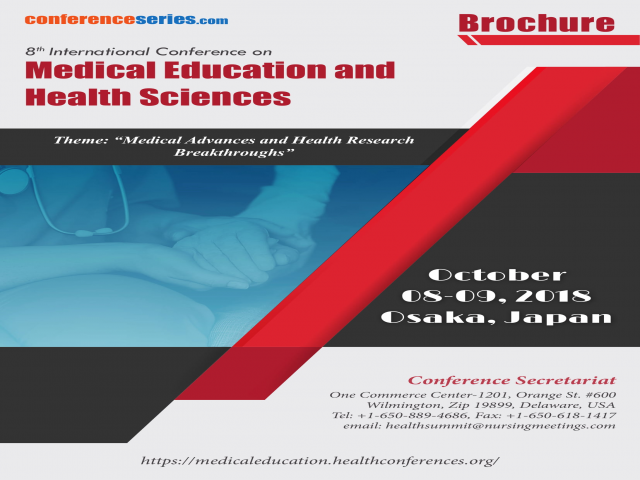 8th International Conference on Medical Education and Health Sciences