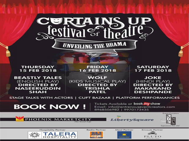 Curtains up festival of Theatre @ Phoenix Marketcity, Pune