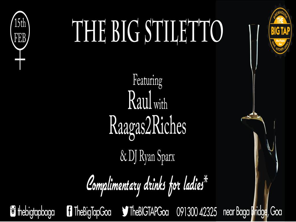 The Big Stiletto - 15th Feb 2018