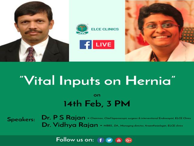 Vital Inputs On Hernia