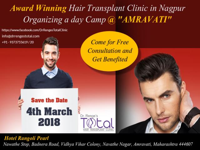 Free Hair Transplant Consultation in Amravati