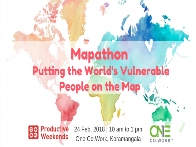 Mapathon - Putting the World's Vulnerable People on the Map