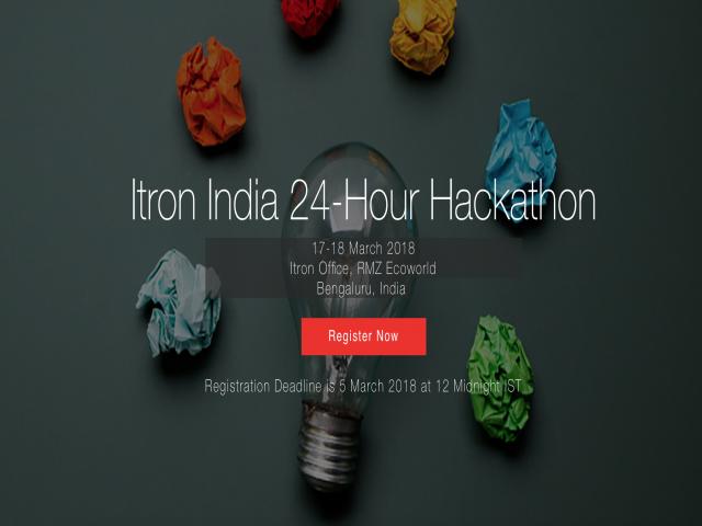 Itron India 24 Hour Hackathon
