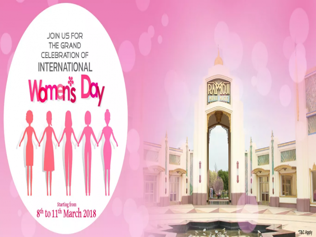 International Women's Day Celebration 2018 at Ramoji Film City Hyderabad