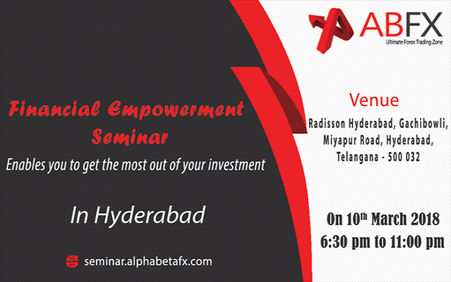 Financial Empowerment Seminar in Hyderabad followed by dinner