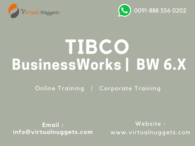 TIBCO BusinessWorks | BW 6.X Online Training