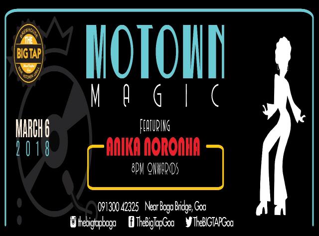 Motown Magic at The Big Tap, Baga