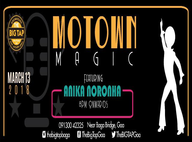 Motown Magic 13th March 2018