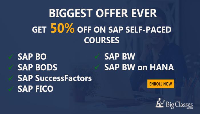 Learn SAP SuccessFactors Self-Paced training - Python Videos - bigclasses.com