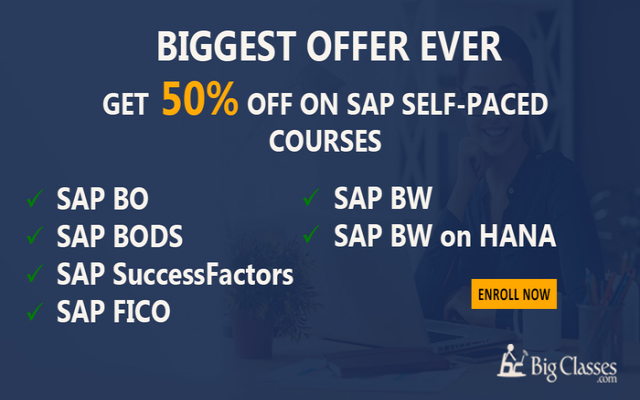 Learn SAP SuccessFactors Self-Paced training - Python Videos - bigclasses.com