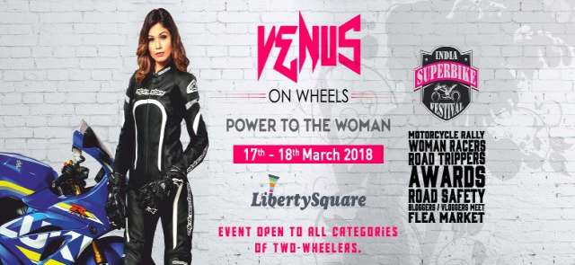 Venues on Wheels Power to Women Bikers at Phoenix Marketcity Pune