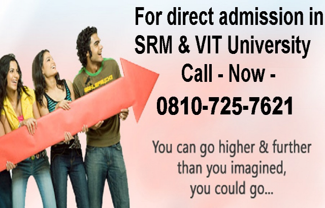 Direct admission in vit under management quota