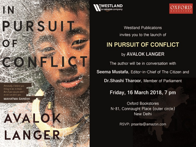 Shashi Tharoor to launch Avalok Langar's Book 'In Pursuit of Conflict'